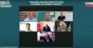 Başkan Soyer kuraklıkla ve yoksullukla mücadelede İzmir Tarımı'nın rolünü anlattı