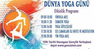Büyükşehir'den yoga etkinliği