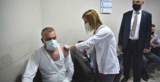 Ulaştıran ekibe mobil aşı