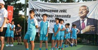 Adana'da geleceğin futbolcuları sezonu açtı