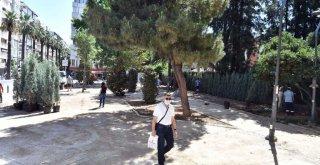Talatpaşa Bulvarı'nda çalışmalar sürüyor