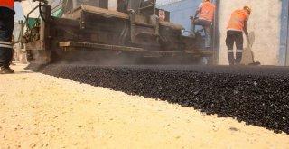 Büyükşehir'in asfalt hamlesi sanayi esnafın da işini kolaylaştırdı