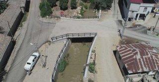 Kırsalda köprü ve menfez yapımları aralıksız sürüyor