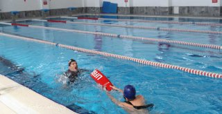 Büyükşehir havuzları daha da güvenli