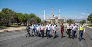 Denizli'de Ali Marım Bulvarı yeni yüzüne kavuşuyor