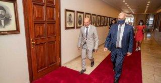 Almanya'nın İzmir Başkonsolosu Tunç Soyer'e ziyaret