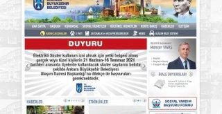 BAŞKENT'TE ÇEVRECİ ALTERNATİF ULAŞIM