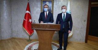Bakan Kasapoğlu'ndan Başkan Büyükakın'a ziyaret