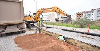 Karacabey'de altyapı hamlesi sürüyor