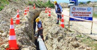 Büyükşehir'den 6 mahalle için 1.000 tonluk su deposu