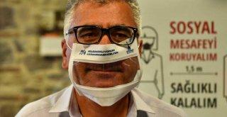 İzmir'de işitme engelliler için şeffaf maske üretiliyor