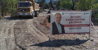 ASAT'TAN GÖYNÜK'E YENİ KANALİZASYON