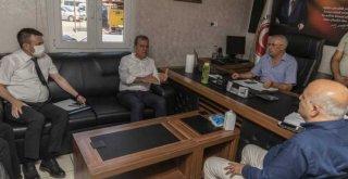 Başkan Seçer, Tarsus OSB Alanındaki İncelemeye Katıldı