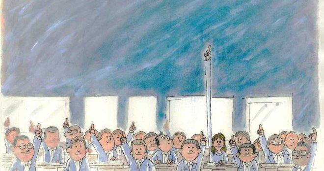 İzmir Büyükşehir Belediyesi'nin grafikerine uluslararası karikatür ödülü