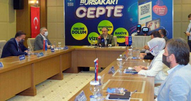 Bursa'da ulaşım artık cep'te