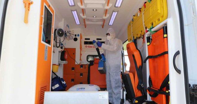 Büyükşehir Hasta Nakil Hizmetlerinde Hijyeni Aksatmıyor