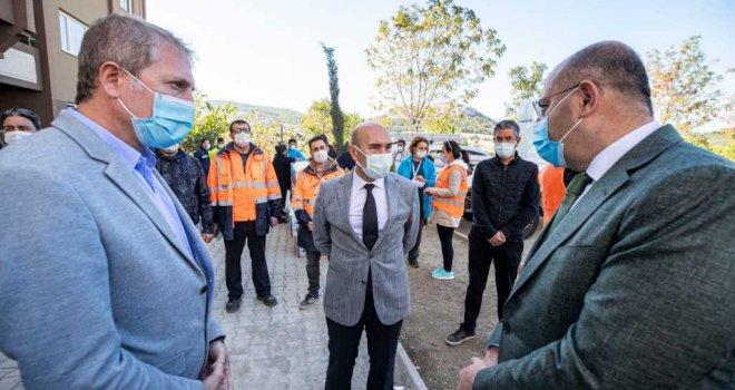 Başkan Soyer depremzedelere seslendi: 'Sizleri bu konutlara davet ediyoruz'