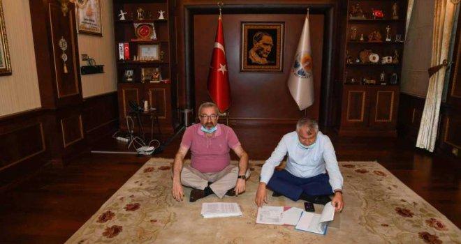 Adana Büyükşehir Makamına Haciz