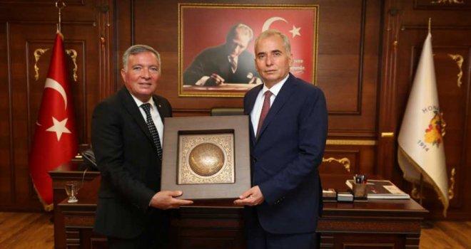 Başkan Osman Zolan Honaz'da
