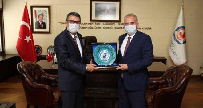 Rektör Vekili Kutluhan'dan Başkan Zolan'a ziyaret