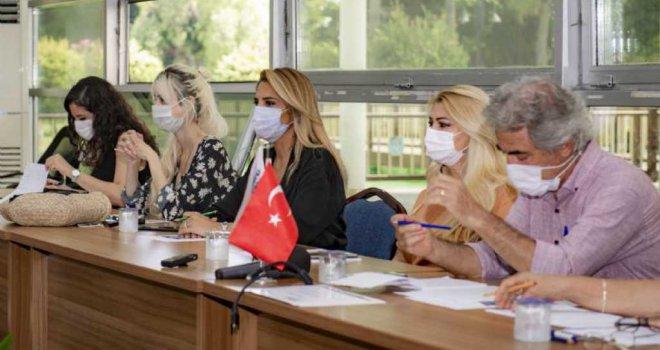Pandemi Sürecinde Kadına Şiddetin Artmasına İlişkin Toplantı Düzenlendi.
