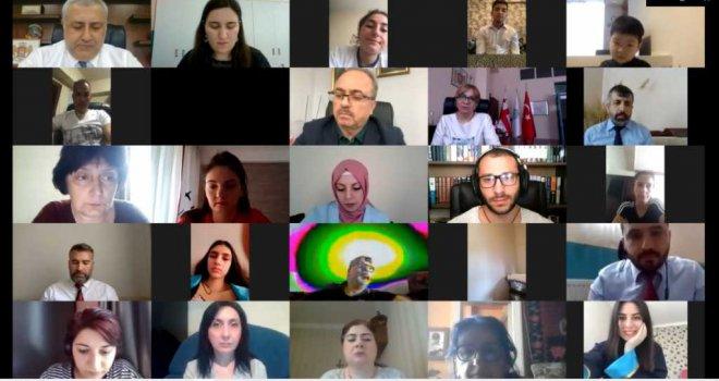 Gürcistan Uluslararası Maarif Okullarında Online Mezuniyet Töreni