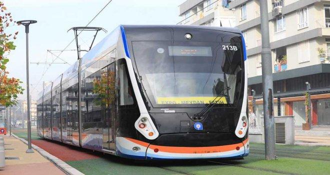 Vakıf Çiftliği -Çallı durakları arasında tramvay ulaşımı 18 Ocak'tan itibaren tek hattan yapılacak