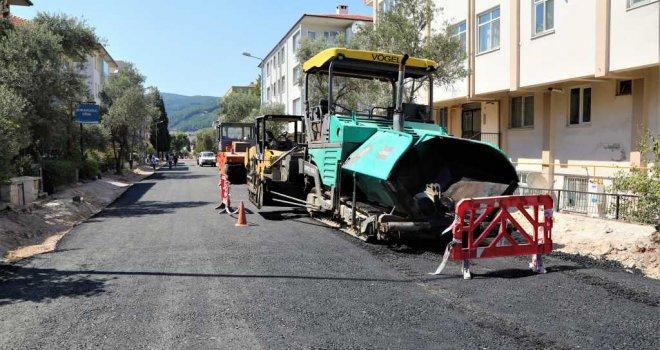 Hasan Ercan Caddesi'nde Asfaltlama Çalışmalarına Başlandı