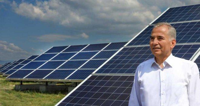 Denizli Büyükşehir Güneş tarlaları ile 4,1 milyon KWh'lik elektrik üretti