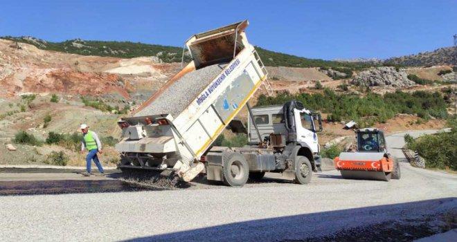 Karaağaç'ta Yol Çalışması Başladı