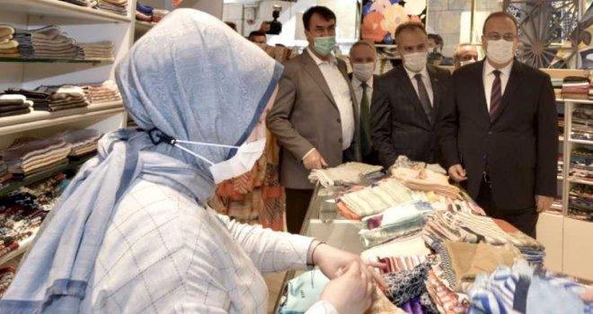 Bursa'da üst düzey korona denetimi