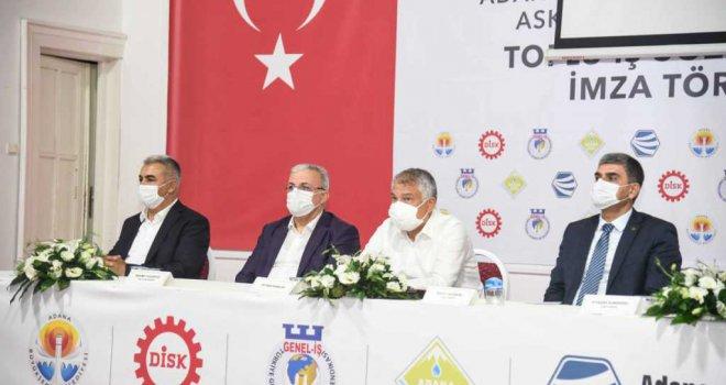 DİSK Genel İş ile Büyükşehir arasında toplu sözleşme imzalandı