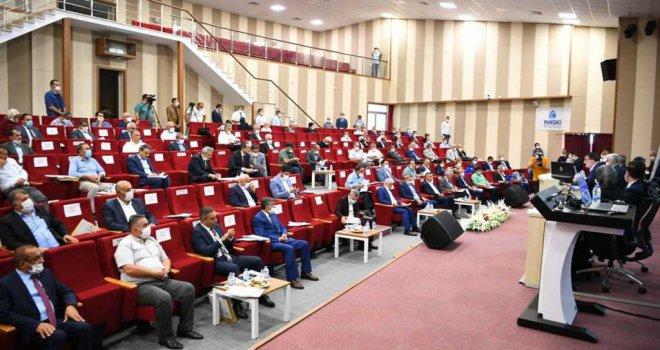 Malatya Büyükşehir Belediye Meclisi Toplandı.