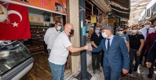 Başkan Soyer: Kemeraltı'nı dünyanın vitrinine koyacağız