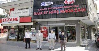 HALK ET'İN DÖRDÜNCÜ MAĞAZASI SERİK'TE HİZMETE GİRDİ