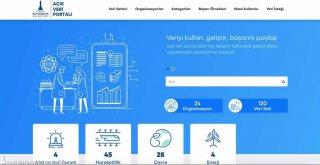 İzmir Büyükşehir Belediyesi'nden açık veri portalı