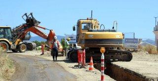 Bodrum Turgutreis'te 26 Bin Metre Kanalizasyon Hattı Tamamlandı