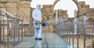 Büyükşehir'den turizme temizlik desteği