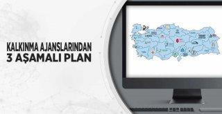 Kalkınma ajanslarından 3 aşamalı plan