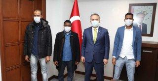 Afrikalı gençler Bursa'yı model alıyor