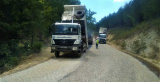Büyükşehir Akyer Mahallesi'nde yol çalışmaları tamamlandı