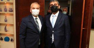 MHP'den Başkan Osman Zolan'a ziyaret