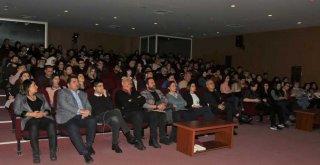 Reklamcı-Yazar Ender Merter Çukurova Üniversitesindeydi
