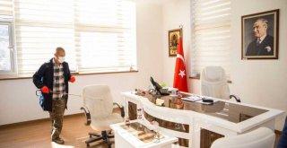 İzmir İl Milli Eğitim Müdürlüğü'nde Virüs Önlemleri Artırıldı