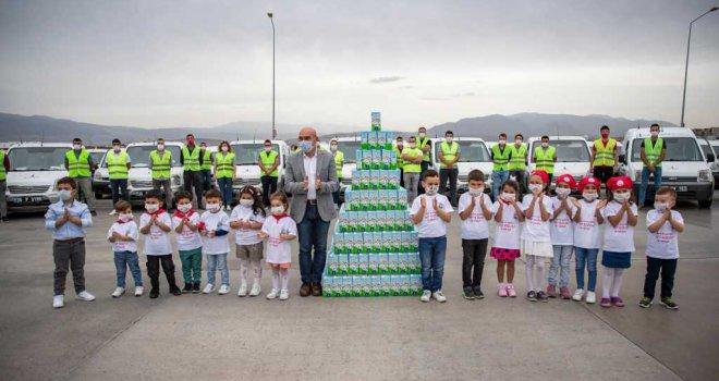 İzmir'in 'süt kuzuları' 156 bini geçti