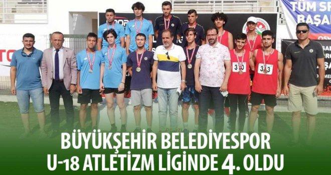 Büyükşehir Belediyespor U18 Atletizm Liginde 4. Oldu