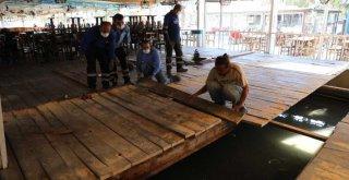 Seferihisar balık hali ve balıkçılar çarşısı yenileniyor