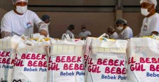 El Bebek Gül Bebek Paketleri Mersin'i Gülümsetiyor