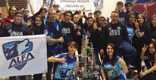 Uluslararası FIRST Robotics Competition Yarışması