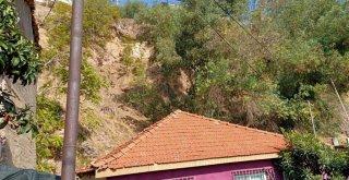 Evi hasar gören aileye Büyükşehir'den yardım eli
